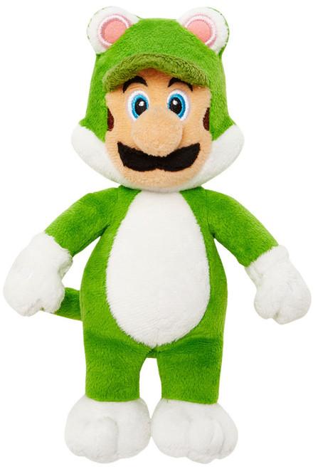 World of Nintendo Super Mario Cat Luigi 7-Inch Plush