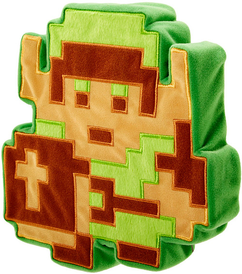 The Legend of Zelda 8 Bit Link Plush