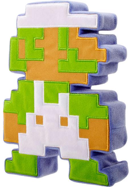 Super Mario 8 Bit Luigi Plush