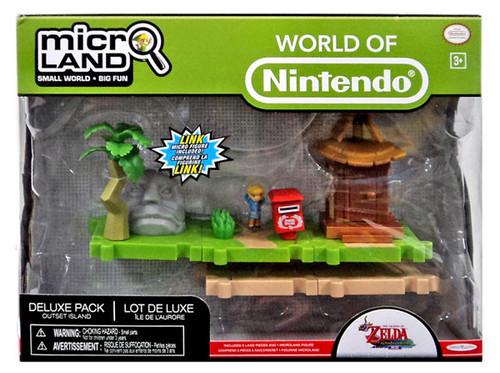 World of Nintendo Legend of Zelda Micro Land Outset Island Deluxe Playset