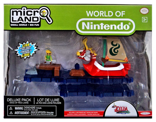 World of Nintendo Super Mario Bros. U Micro Land King of Red Lions Deluxe Playset