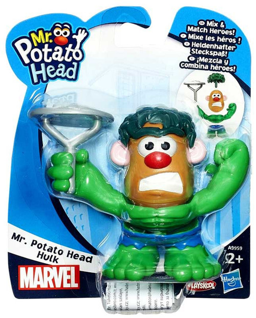 Mixable Mashable Heroes Mr. Potato Head as Hulk Figure