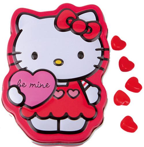 Hello Kitty Sweet Hearts Candy Tin
