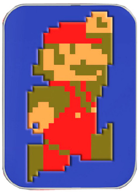 Super Mario Mario 8-Bit Mints Candy Tin