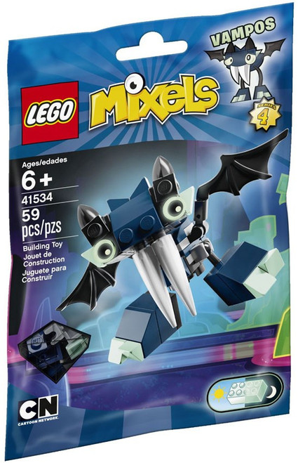 LEGO Mixels Series 4 VAMPOS Set #41534 [Bagged]