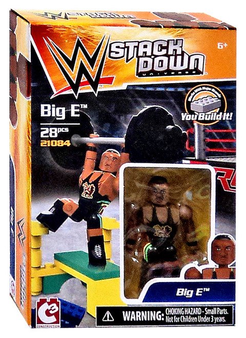 WWE Wrestling C3 Construction StackDown Big E Playset #21084