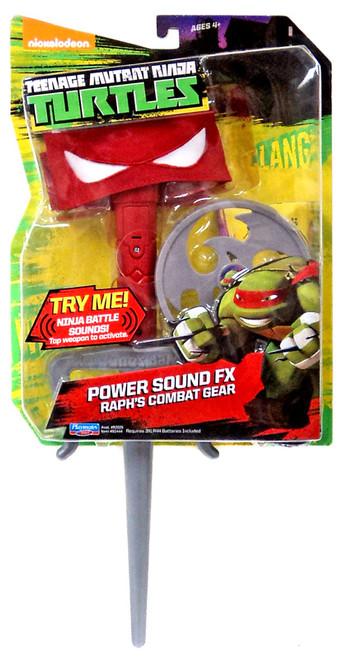 Teenage Mutant Ninja Turtles Nickelodeon Power Sound FX Raph's Combat Gear Roleplay Toy