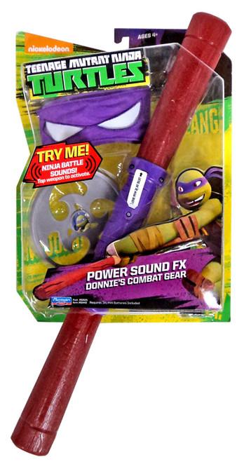 Teenage Mutant Ninja Turtles Nickelodeon Power Sound FX Donnie's Combat Gear Roleplay Toy