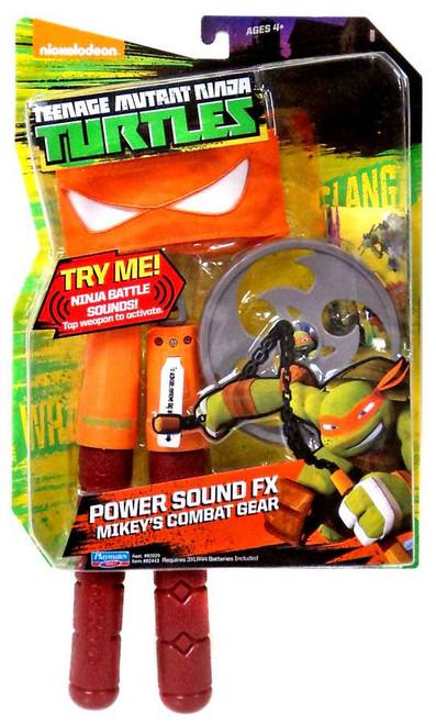 Teenage Mutant Ninja Turtles Nickelodeon Power Sound FX Mikey's Combat Gear Roleplay Toy
