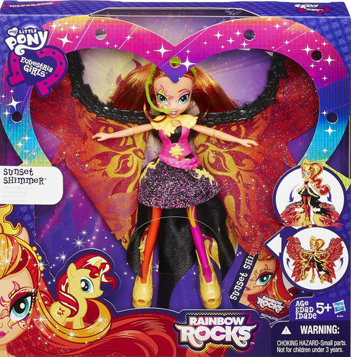 My Little Pony Equestria Girls Rainbow Rocks Sunset Shimmer Doll [Time to Shine]