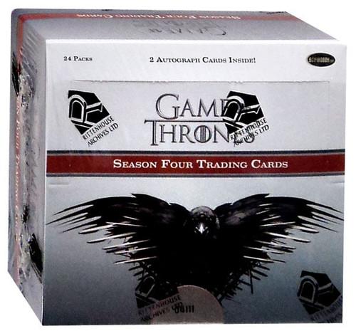 Game of Thrones Season Four Trading Card Box