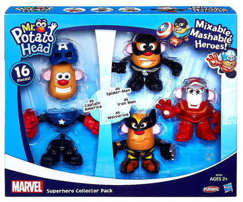 Marvel Playskool Mixable, Mashable Heroes! Super Hero Collector Pack Mr. Potato Head