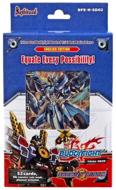 Future Card BuddyFight Trading Card Game Radiant Force Vol.2 Trial Deck BFE-H-SD02