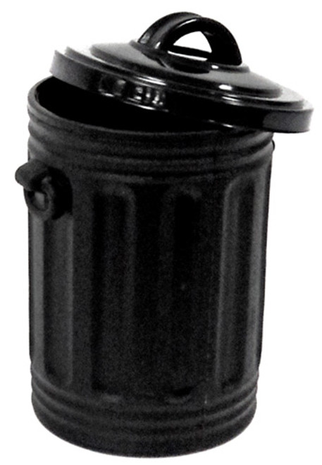 WWE Wrestling Trash Can Action Figure Accessory [Black Loose]