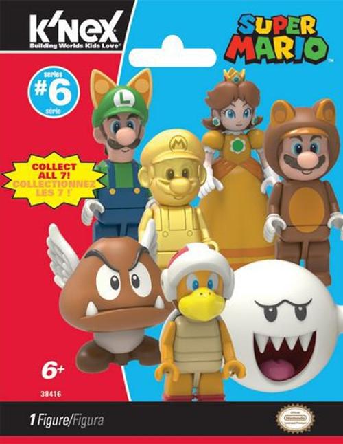 K'NEX Super Mario Series 6 Mystery Pack #38416 [1 RANDOM Figure]