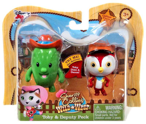 Sheriff Callie's Wild West Disney Junior Toby & Deputy Peck Action Figure 2-Pack