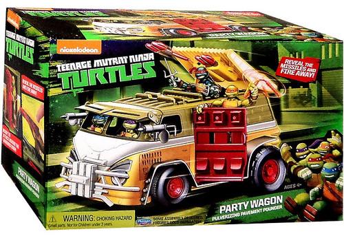 Teenage Mutant Ninja Turtles Nickelodeon Party Wagon Action Figure Vehicle