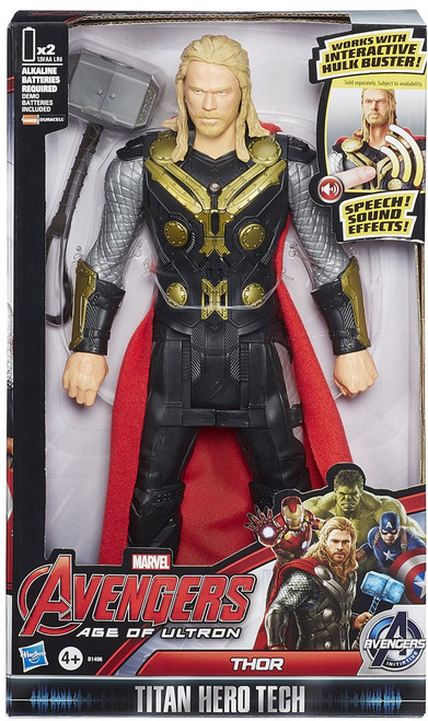 Marvel Avengers Age of Ultron Titan Hero Tech Thor Action Figure [Electronic]
