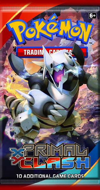 Pokemon Trading Card Game XY Primal Clash Booster Pack [10 Cards]