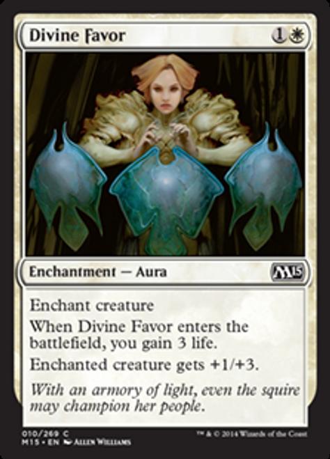 MtG 2015 Core Set Common Foil Divine Favor #10