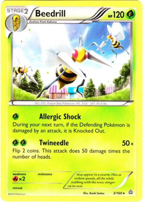 Pokemon X & Y Primal Clash Rare Beedrill #3