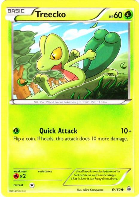 Pokemon X & Y Primal Clash Common Treecko #6