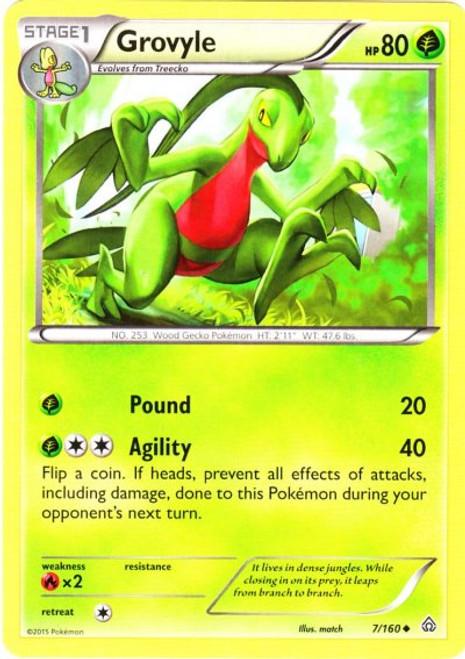 Pokemon X & Y Primal Clash Uncommon Grovyle #7