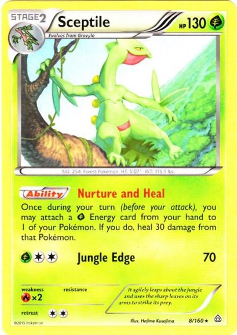 Pokemon X & Y Primal Clash Rare Sceptile #8