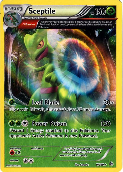 Pokemon X & Y Primal Clash Rare Holo Sceptile #9