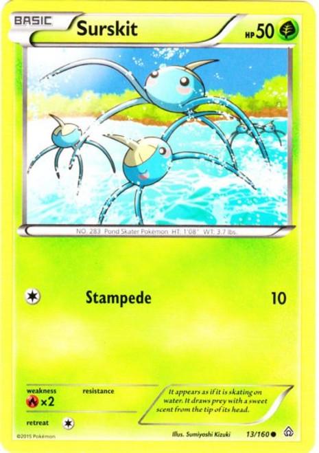 Pokemon X & Y Primal Clash Common Surskit #13