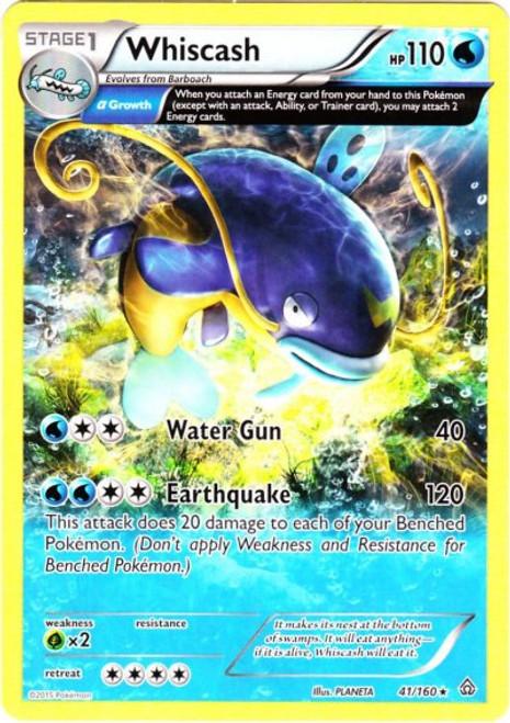 Pokemon X & Y Primal Clash Rare Whiscash #41