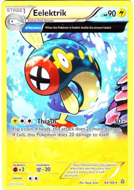 Pokemon X & Y Primal Clash Rare Eelektrik #64