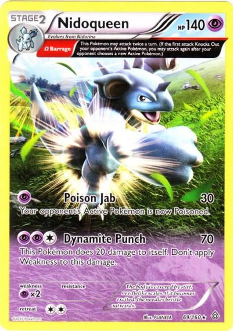 Pokemon X & Y Primal Clash Rare Nidoqueen #69