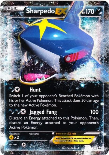 Pokemon X & Y Primal Clash Ultra Rare Sharpedo EX #91