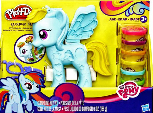 My Little Pony Play-Doh Rainbow Dash Style Salon Playset