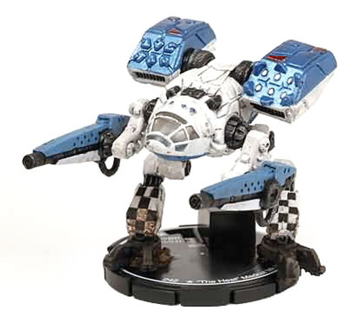 "MechWarrior HeroClix Domination ""The Heat"" Madcat Mk IV Exclusive MCT-V7-H"