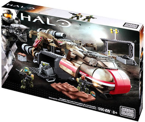 Mega Bloks Halo Smuggler Intercept Set #38169