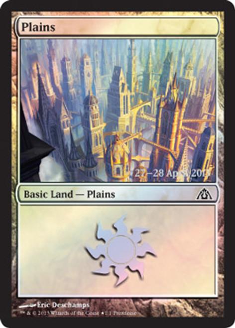 MtG Prerelease & Release Promo Plains [Dragon's Maze Prerelease]