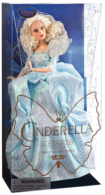 Disney Princess Cinderella 2015 Film Collection Fairy Godmother 11-Inch Doll