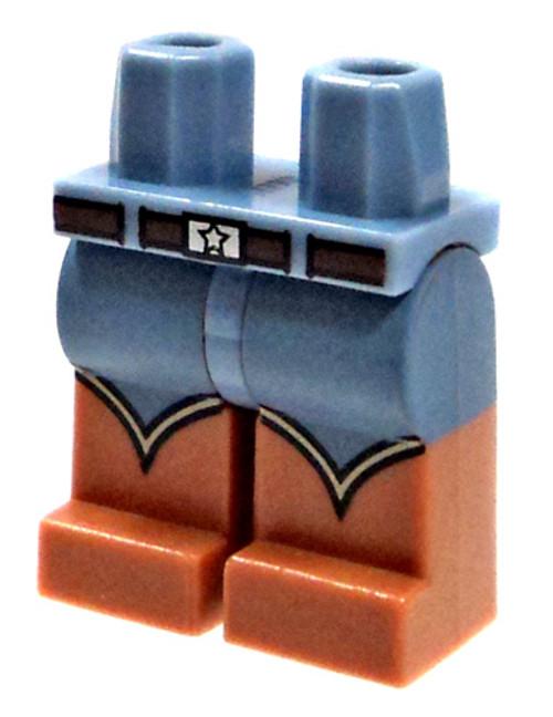 LEGO Cowboy Boots & Belt Buckle Loose Legs [Loose]