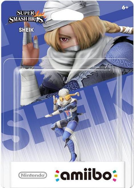 World of Nintendo Super Smash Bros Amiibo Sheik Mini Figure