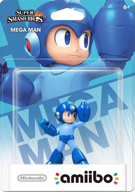 World of Nintendo Super Smash Bros Amiibo Mega Man Mini Figure
