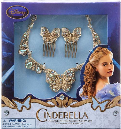 Disney Princess Cinderella 2015 Deluxe Princess Accessory Set Exclusive Dress Up Toy