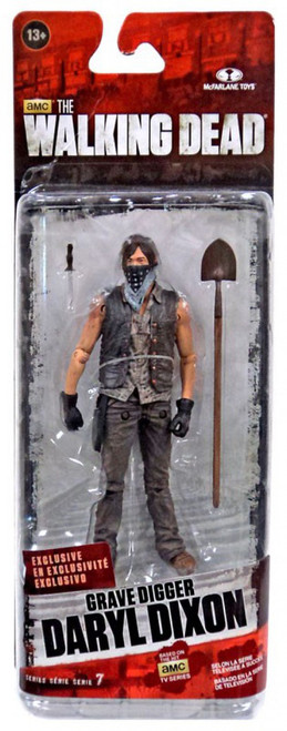 McFarlane Toys The Walking Dead AMC TV Series 7.5 Grave Digger Daryl Dixon Action Figure [Season 4]