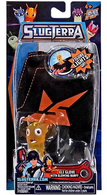 Slugterra Eli Glove with Burpy Glow Figure