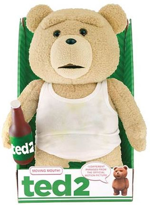 Ted 2 Ted in Tank Top with Beer 16-Inch Talking Plush [Clean]