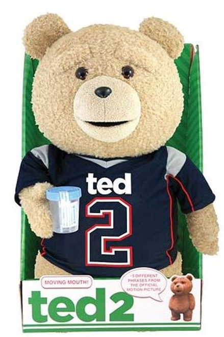 Ted 2 Ted in Jersey 16-Inch Talking Plush [Clean]