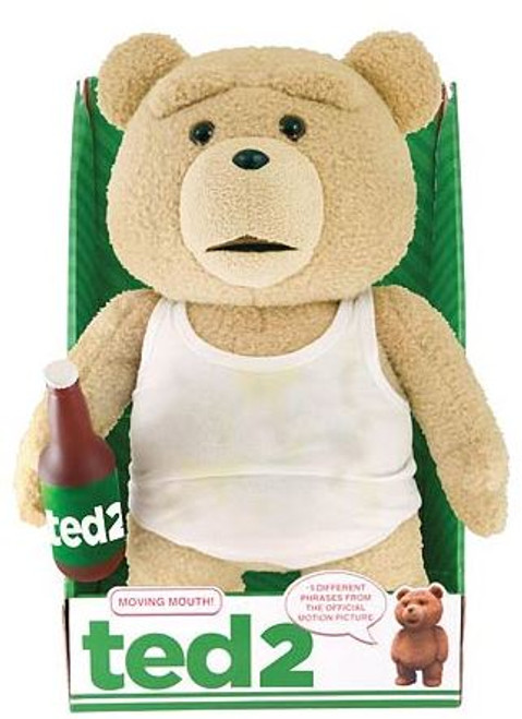 Ted 2 Ted in Tank Top with Beer 16-Inch Talking Plush [Explicit]