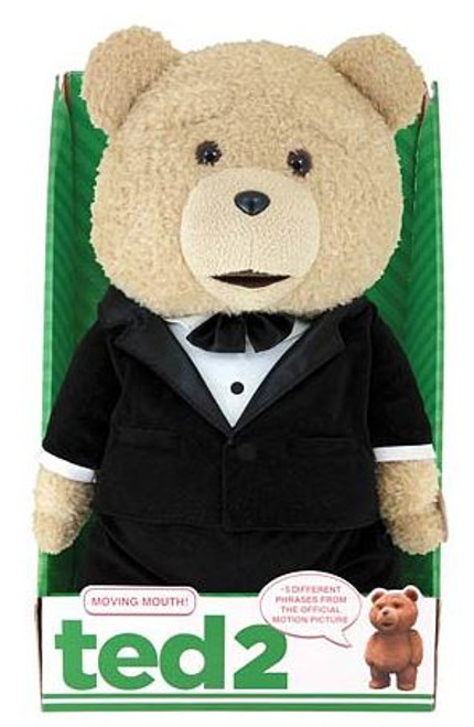 Ted 2 Ted in Tuxedo 16-Inch Talking Plush [Explicit]