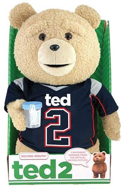 Ted 2 Ted in Jersey 16-Inch Talking Plush [Explicit]